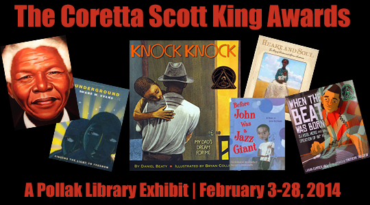 Coretta Scott King Awards exhibit
