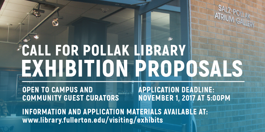 2017 Call for Exhibition Proposals