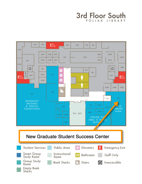 New Graduate Student Success Center