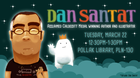 Dan Santat Author Talk Promo Graphic