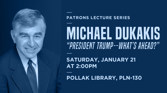 Details for the Michael Dukakis event
