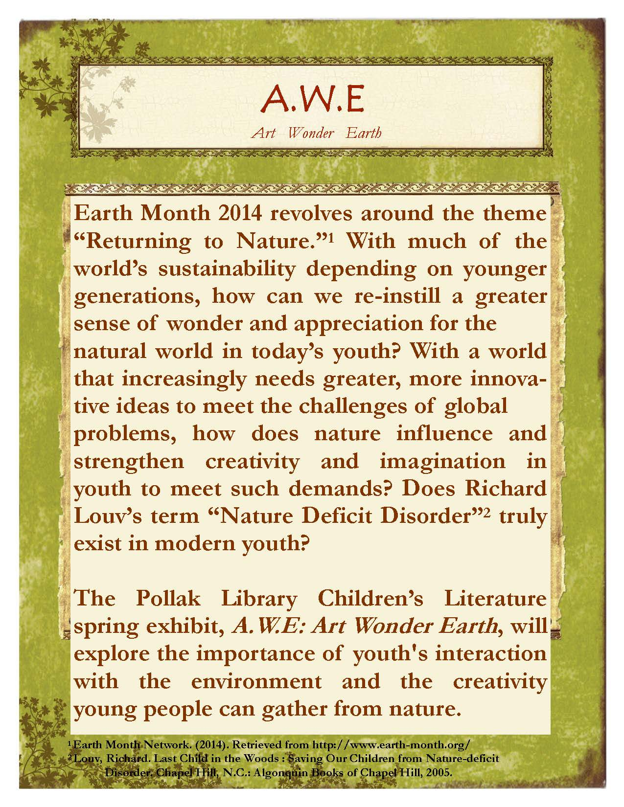 AWE exhibit description