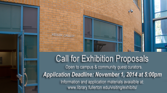 Call for exhibit proposals