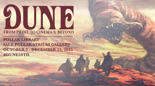 Dune 50th Anniversary Exhibit