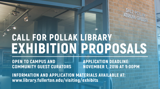 Details regarding the call for proposals for 2017-2018 exhibits