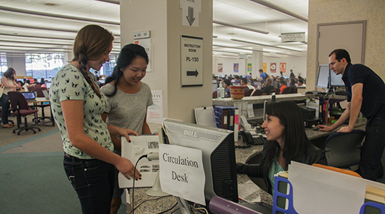 New Location Circulation Desk
