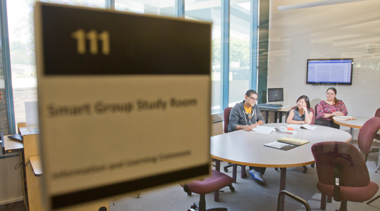 Smart Study Room, 1st floor, Library North