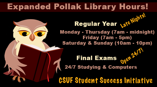 Explanded 2014-2015 Library Hours