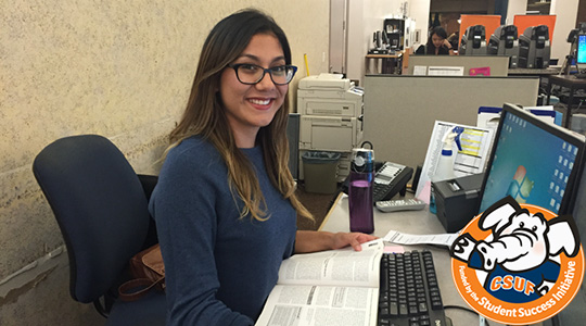 Library Services Specialist Adriana Bernal