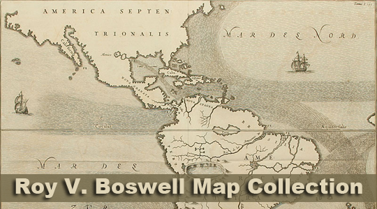 Roy V. Boswell Map Collection