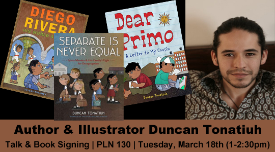 Author Talk with Duncan Tonatiuh