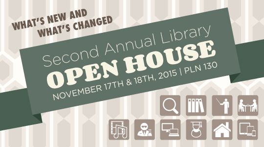 2015 Library Open House